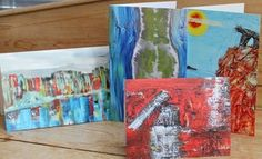 Set of Four, Paul Westaway, Signed Inscribed Limited run of 20 Greetings cards £6