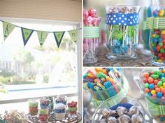 Image detail for -Beach Birthday Party Package - Pool Themed Birthday - DIY You Print