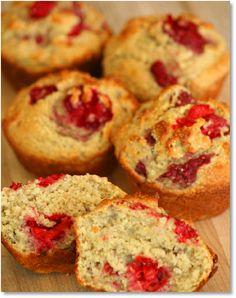 Low FODMAP Recipes Gluten-free raspberry muffinse- Gluten free recipe