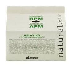 Davines -Natural Tech - Relaxing Preluding Massage - Rpm & Apm