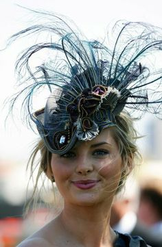 amazing hat worn by a guest at Royal Ascot