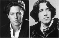 Hugh Grant and famous English writer Oscar Wilde