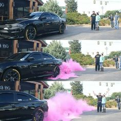 Gender Reveal Burnout Color Smoke Tires For Your Gender Reveal. Announce your newest family member in a cloud of pink or blue. Made for racing and car enthusiasts to reveal alongside your car. Gender Reveal Party Games, Gender Reveal Themes, Gender Reveal Party Invitations, Gender Reveal Decorations, Gender Party, Fireworks Gender Reveal, Reveal Parties, Gender Reveal Announcement, Pregnancy Gender Reveal