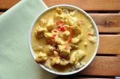 Chicken w/ coconut milk Coconut Milk, Cheeseburger Chowder, Chicken, Recipes, Food, Meal, Rezepte, Essen, Recipies