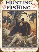 Hunting & Fishing Bear Sign