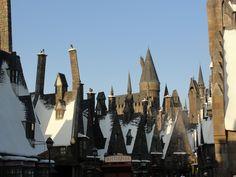 Harry Potters Village,Universal Studios, Orlando, Florida