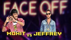 Mohit Vs Jeffrey Faceoff India's Raw Star 16 Nov 2014