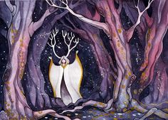 Soul of the forest by MaryIL.deviantart.com on @deviantART