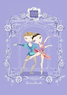 Snap up these ballet illustrations before they are gone ! www.balletnews.co.uk