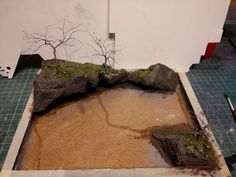 river diorama