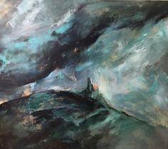 Gunesozmen Painting Mix media on canvas Contemporary artist