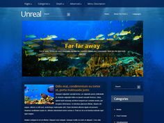 Unreal is just a name of the free WordPress theme developed by SMThemes. Actually this is an extremely real opportunity for newbies or professionals alike. You can build a website easy and fast with that nature inspired WordPress theme already today. Social Bar, Logo Psd, Seo Optimization, Themes Free, Responsive Web Design, Building A Website, Premium Wordpress Themes, Nature Inspired, Opportunity