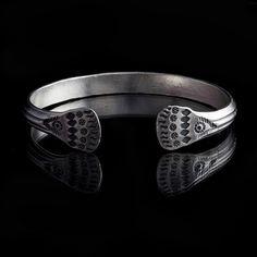Hill Tribe Silver Cuff, Silver Bracelet, 92.5 Silver,Bracelets,Tribal Jewellery,Tribal,Belly Dance (Code 4 ) by TRIBALIK on Etsy