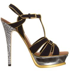 Next Shoes, Designer Shoes, Yves Saint Laurent, Fashion Shoes, Take That, Footwear, Sandals, Chic, Marilyn Monroe