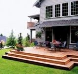 Decks without Railings | deck without railing