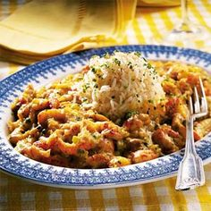 Prepare crawfish étouffée, a classic Cajun main dish, in the comfort of your own home.  Serve over hot cooked rice with buttered toast for a hearty meal.
