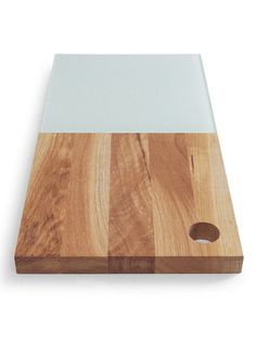 edge cheese board with glass by sagaform $65