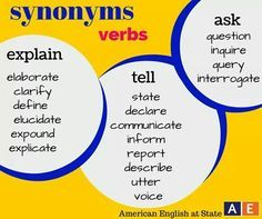 Do you find yourself using the same adjectives over and over again synonyms for explain tell ask solutioingenieria Images