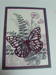 Ophelia Crafts Butterfly Basics Card