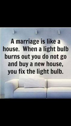 Bam!! Divorce is not an option. Wish more ppl realized this before they take the plunge.