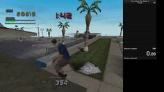 tony hawk's pro skater 2 speedrunner accidentally discovers a bug that fucks the game