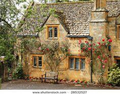 Cottages crave roses.