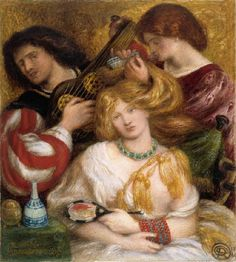 Dante Gabriel Rossetti - Morning Music