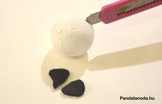 Kávékapaszula pandák készítése
