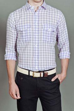 CPW 4 Pocket Buffalo Check Woven Shirt