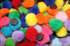 puff ball magnets