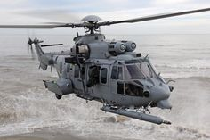 """Caracal H225M © Airbus Helicopters. The President of the French Republic met on June 10 with the Emir of Kuwait who """"  expressed the wish of the Kuwaiti government to equip the air forces of his country's 24 heavy helicopters Caracal type  """"produced by Airbus Helicopters. """"  The contract will be signed as soon as possible in the presence of French Minister of Defence, Mr. Jean-Yves le Drian, and his counterpart Sheikh Khaled Al-Jarrah Al-Sabah  , """"said the Elysee."""