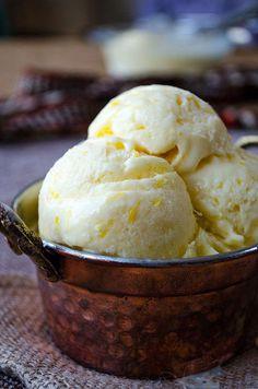 Creamy lemon ice cream loaded with lemon zest and lemon juice. Creamy lemon ice cream loaded with lemon zest and lemon juice. The best refreshing summer treat for lemon lovers! Ice Cream Treats, Ice Cream Desserts, Lemon Desserts, Lemon Recipes, Frozen Desserts, Ice Cream Recipes, Frozen Treats, Delicious Desserts, Dessert Recipes