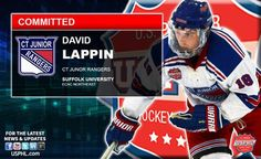 CT Junior Rangers' David Lappin Earns NCAA Commitment to Suffolk University