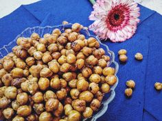 roasted chickpeas: a healthy snack to go - The Puur Dog Food Recipes, Vegetarian Recipes, Healthy Recipes, Rice Cakes, Pcos, Fine Dining, Healthy Snacks, Roast, Lunch Box