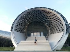 Rhike Park - Music Theatre and Exhibition Hall   Studio Fuksas   Archinect