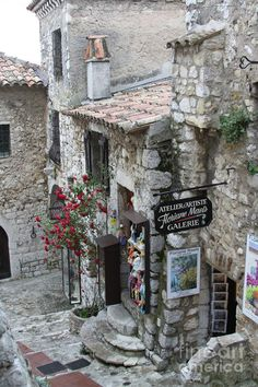 Eze Village, France FW