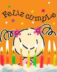 Feliz cumpleaños!!! Disfruta tu día
