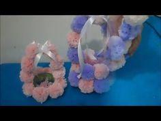 Cestinha de garrafa pet - lembrancinha de aniversário Minnie - YouTube