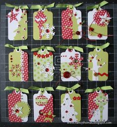 Christmas Gift Tags by nancyt - Cards and Paper Crafts at Splitcoaststampers