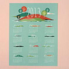 2013 Printable Calendars Round-Up via ParentPretty.com
