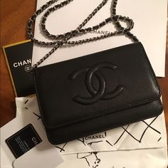Chanel Red Caviar Leather wallet on the chain Brand new in dust bag!  Excellent like real thing! Don t ask obvious questions! Make reasonable  offers! a668c606ad6e6