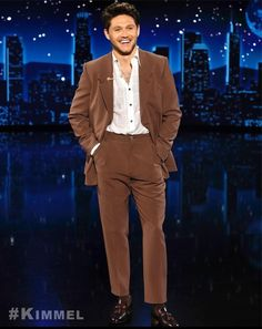 Niall Horan One Direction Harry, One Direction Pictures, Irish Boys, Irish Men, James Horan, 1d Day, 5 Best Friends, Naill Horan, Brown Suits