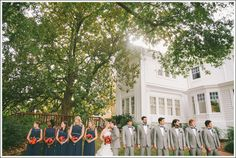 Fairview Inn Wedding in Jackson, MS with April and Paul Photography // Bridal party pose