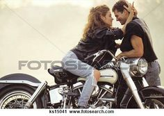 View Stock Photo of Woman On Motorcycle Caressing Man. Find premium, high-resolution photos at Getty Images. Motorcycle Engagement Photos, Motorcycle Photo Shoot, Motorcycle Couple Pictures, Biker Couple, Motorcycle Wedding, Biker Love, Biker Girl, Biker Chick, Trek Bikes
