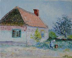 Boerenhofje door Riet de Paauw.