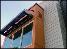 Brick Veneer Panels, Fibre Cement Cladding, Loft House, House Siding, Outdoor Sheds, Building Facade, Exterior Siding, Modern Exterior, Architecture Details