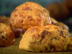 Quick Bacon-Cheddar Biscuits Recipe   Sunny Anderson   Food Network