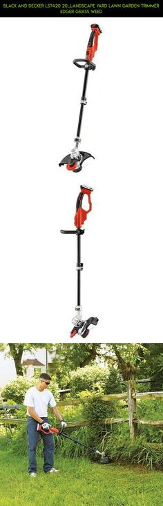 Black and Decker LST420 20...Landscape Yard Lawn Garden Trimmer Edger Grass Weed #technology #gadgets #lawn #parts #racing #drone #and #tech #camera #plans #shopping #products #kit #fpv #trimmers #garden