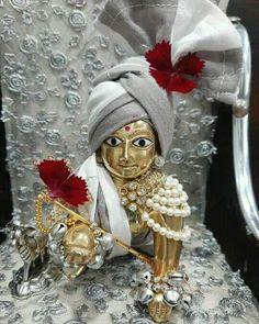 Cute Krishna, Krishna Radha, Rama Image, Janmashtami Decoration, Laddu Gopal Dresses, Ladoo Gopal, Lord Krishna Images, Crochet Baby, Hinduism
