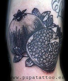 Tatuaje Granada Pupa Tattoo